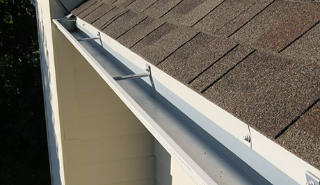 Clean Gutters on House